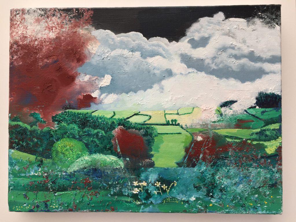 Landscape 2 - Oil on Canvas