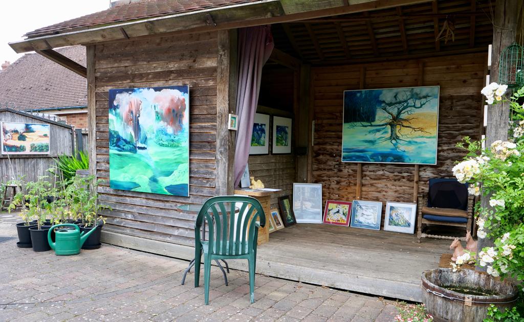 Garden Exhibition, Warwickshire Open Studios 2021